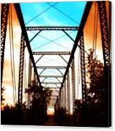 Sparksville Bridge Canvas Print