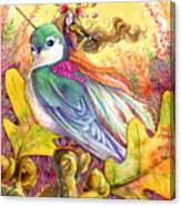 Sparrow's Song Canvas Print