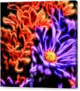 Spatial Glow Canvas Print