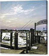 Speared Sunset Over Martha's Vineyard Canvas Print
