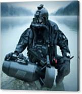 Special Operations Forces Combat Diver Canvas Print
