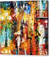 Special Rain Canvas Print