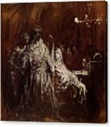 Spectrum Appearance Of Banquo Canvas Print