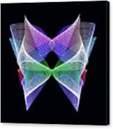 Spectrum Butterfly Canvas Print