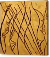 Speech Trails - Tile Canvas Print