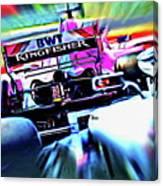 Speed Up Canvas Print