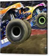 Speeding Tires Canvas Print