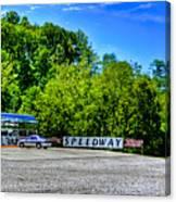 Speedway Diner Canvas Print