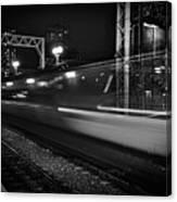 Speedy Train At Kings Cross Canvas Print