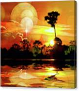 Spektrel Reflected 2 Canvas Print