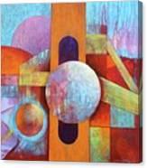 Spheres And Beams Canvas Print