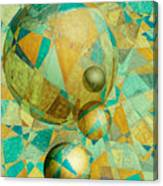 Spheres Of Life's Changes Canvas Print