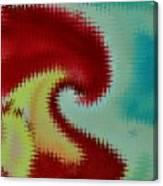 Spherical Colours Canvas Print
