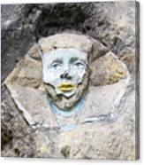 Sphinx - Rock Sculpture Canvas Print