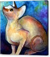 Sphynx Cat 5 Painting Canvas Print