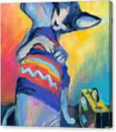 Sphynx Cats Friends Canvas Print