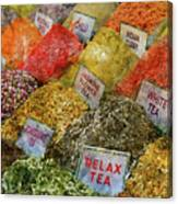 Spice Market In Istanbul Canvas Print
