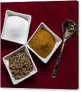 Spices  6070 Canvas Print
