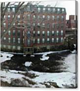 Spicket River Mill Condo Canvas Print