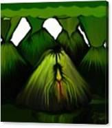 Spider Volcano Progression 5 Canvas Print