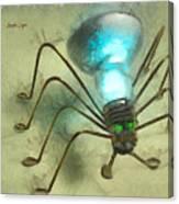 Spiderlamp Canvas Print