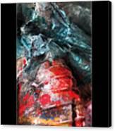 Spill 228 Canvas Print