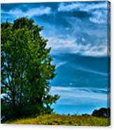 Sping Landscape In Nh 3 Canvas Print