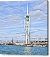Spinnaker Tower Portsmouth Canvas Print