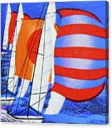 Spinnakers. Canvas Print