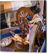 Spinning And Weaving Canvas Print