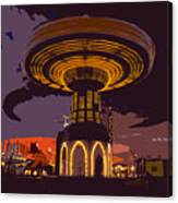 Spinning Fun At The Fair Canvas Print