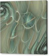 Spinning Galaxies Canvas Print