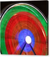 Spinning Wheels Canvas Print