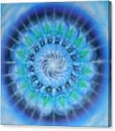 Spiral Gallaxies Canvas Print