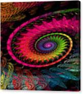 Spiral In  Spirals. Canvas Print