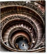 Spiral Staircase No1 Canvas Print