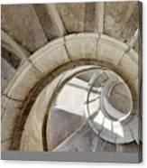 Spiral Stairway Canvas Print