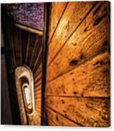 Spiral Stairwell Canvas Print