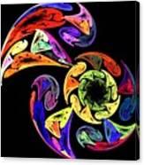 Spiral Toucan Canvas Print