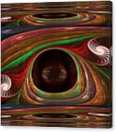 Spiral Warp Canvas Print