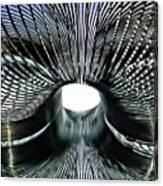 Spiral Wire Bridge Canvas Print