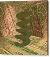 Spiralease Canvas Print
