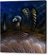 Spirit Of A Duck Canvas Print