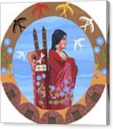 Spirit Of Eagles Canvas Print