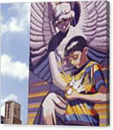 Spirit Of Healing Mural San Antonio Texas Canvas Print