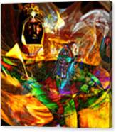 Spirit Of The Lamp Canvas Print