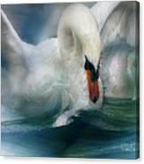 Spirit Of The Swan Canvas Print