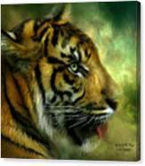Spirit Of The Tiger Canvas Print
