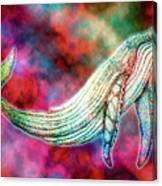 Spirit Whale 2 Canvas Print