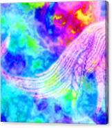Spirit Whale 3 Canvas Print